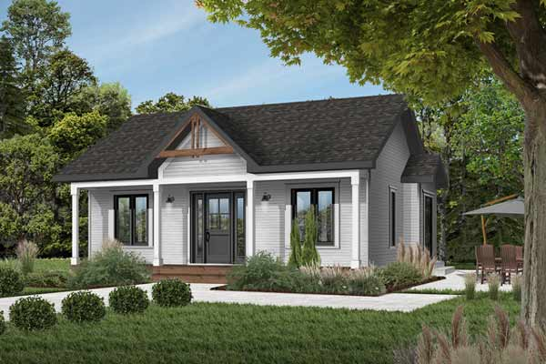 Cottage Style Floor Plans Plan: 5-785