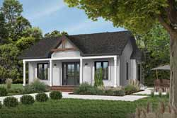 Cottage Style House Plans Plan: 5-785