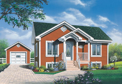 Cottage Style House Plans Plan: 5-788