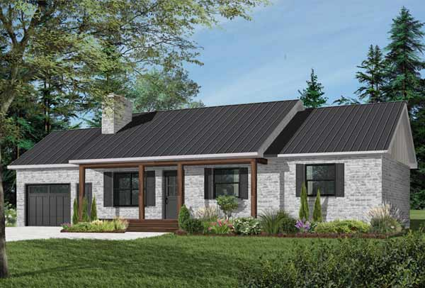 Ranch Style House Plans Plan: 5-793