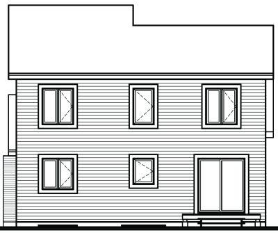Rear Elevations Plan:5-794