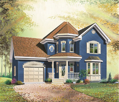 Farm Style Floor Plans Plan: 5-795