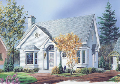Traditional Style House Plans Plan: 5-797