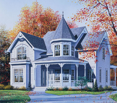 Victorian Style House Plans Plan: 5-800