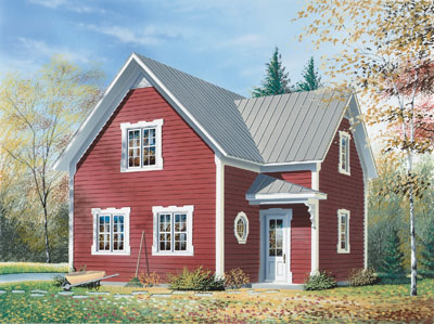 Cottage Style House Plans Plan: 5-801