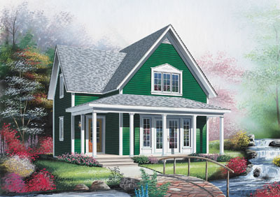 Country Style House Plans Plan: 5-803