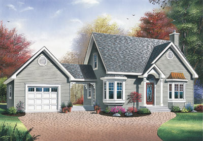 Traditional Style Floor Plans Plan: 5-806