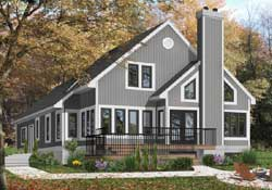 Contemporary Style Floor Plans Plan: 5-807