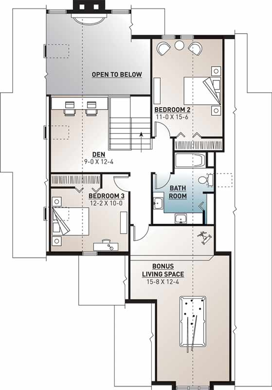 Upper/Second Floor Plan:5-807