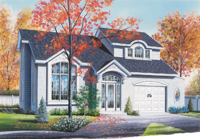 Traditional Style Floor Plans Plan: 5-810