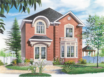 European Style House Plans Plan: 5-812