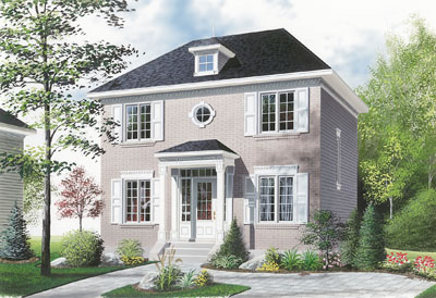 Colonial Style House Plans Plan: 5-813
