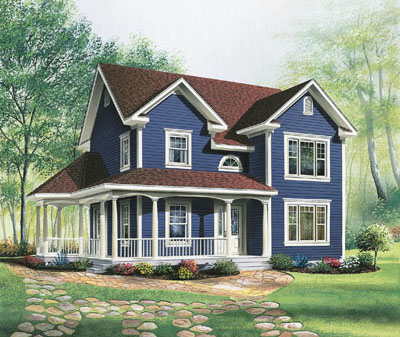 Farm Style House Plans Plan: 5-819