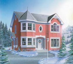 European Style House Plans Plan: 5-823