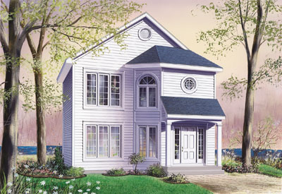 Traditional Style House Plans Plan: 5-824