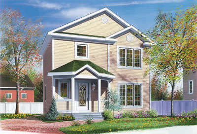 Traditional Style House Plans Plan: 5-825