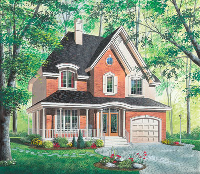 European Style Floor Plans Plan: 5-832