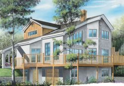 Contemporary Style Floor Plans Plan: 5-842