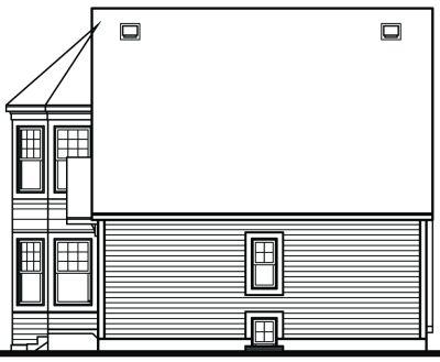 Rear Elevation Plan: 5-843