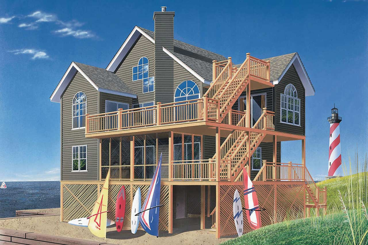 Cottage Style House Plans Plan: 5-846