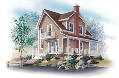 Country Style House Plans Plan: 5-848