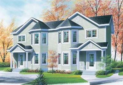 Traditional Style House Plans Plan: 5-852