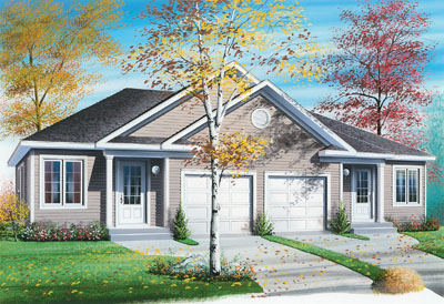 Traditional Style House Plans Plan: 5-853