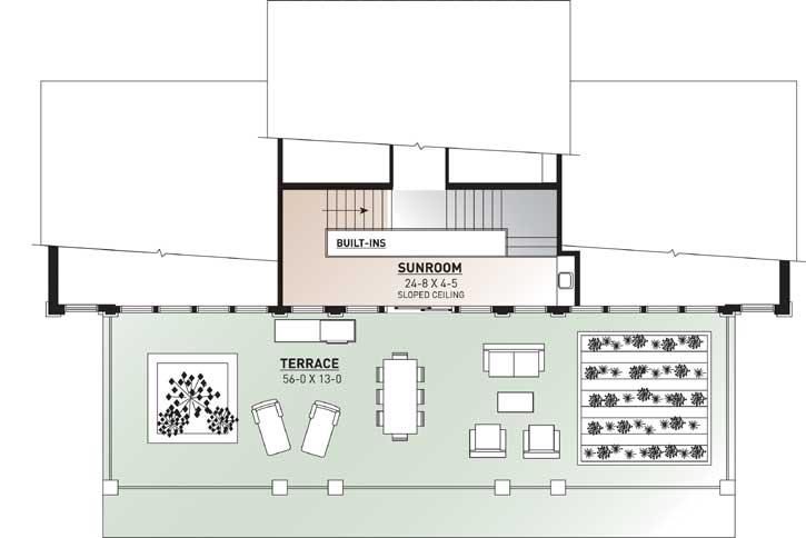 Upper/Second Floor Plan: 5-856