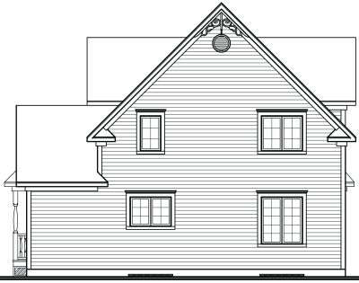 Rear Elevation Plan: 5-860