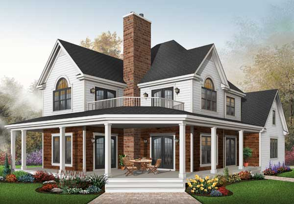 Country Style House Plans