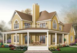 Country Style Floor Plans 5-862