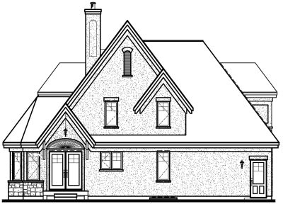 Rear Elevation Plan: 5-865