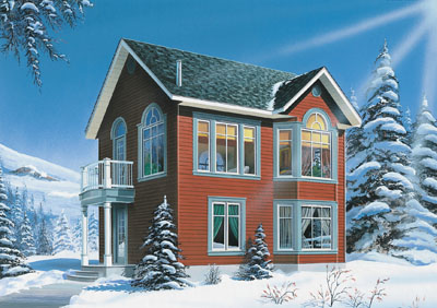 Traditional Style House Plans Plan: 5-869