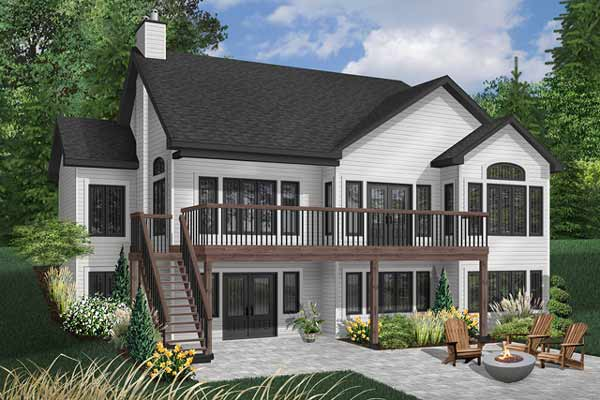 Traditional Style House Plans Plan: 5-870