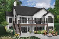 Traditional Style Floor Plans Plan: 5-870