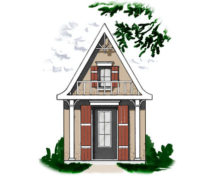 European Style House Plans Plan: 5-883
