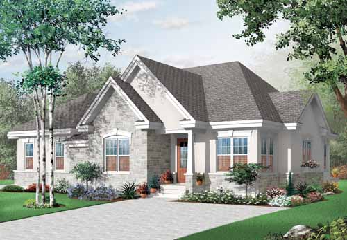 Traditional Style House Plans Plan: 5-901