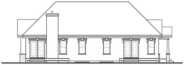 Rear Elevation Plan: 5-901