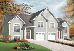 Traditional Style Home Design Plan: 5-905