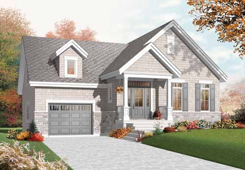 Shingle Style House Plans Plan: 5-939