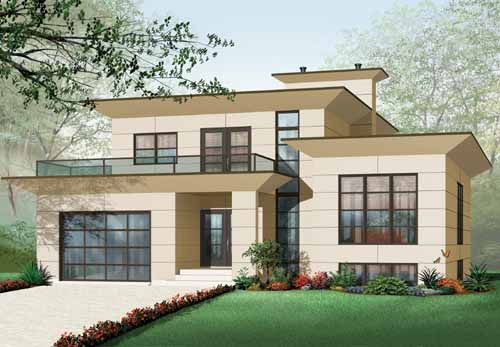 Modern Style Home Design 5-952