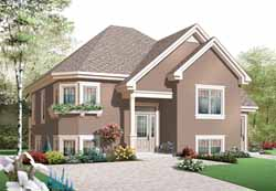 Traditional Style Floor Plans Plan: 5-990
