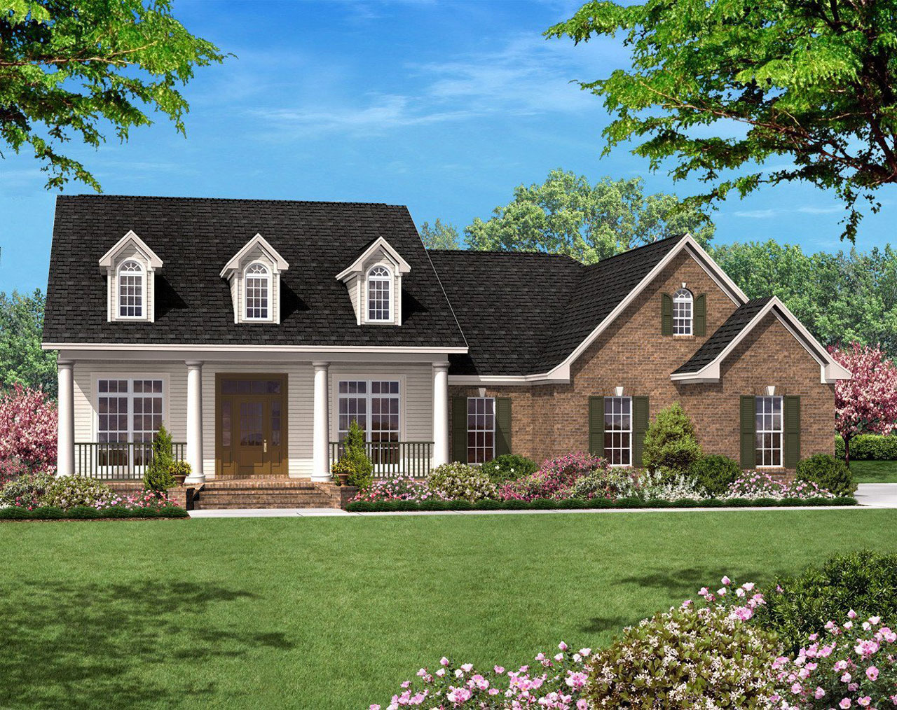 Country House Plan 3 Bedrooms 2 Bath 1500 Sq Ft Plan