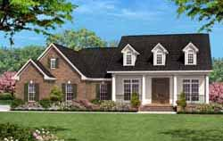 Southern Style House Plans Plan: 50-125
