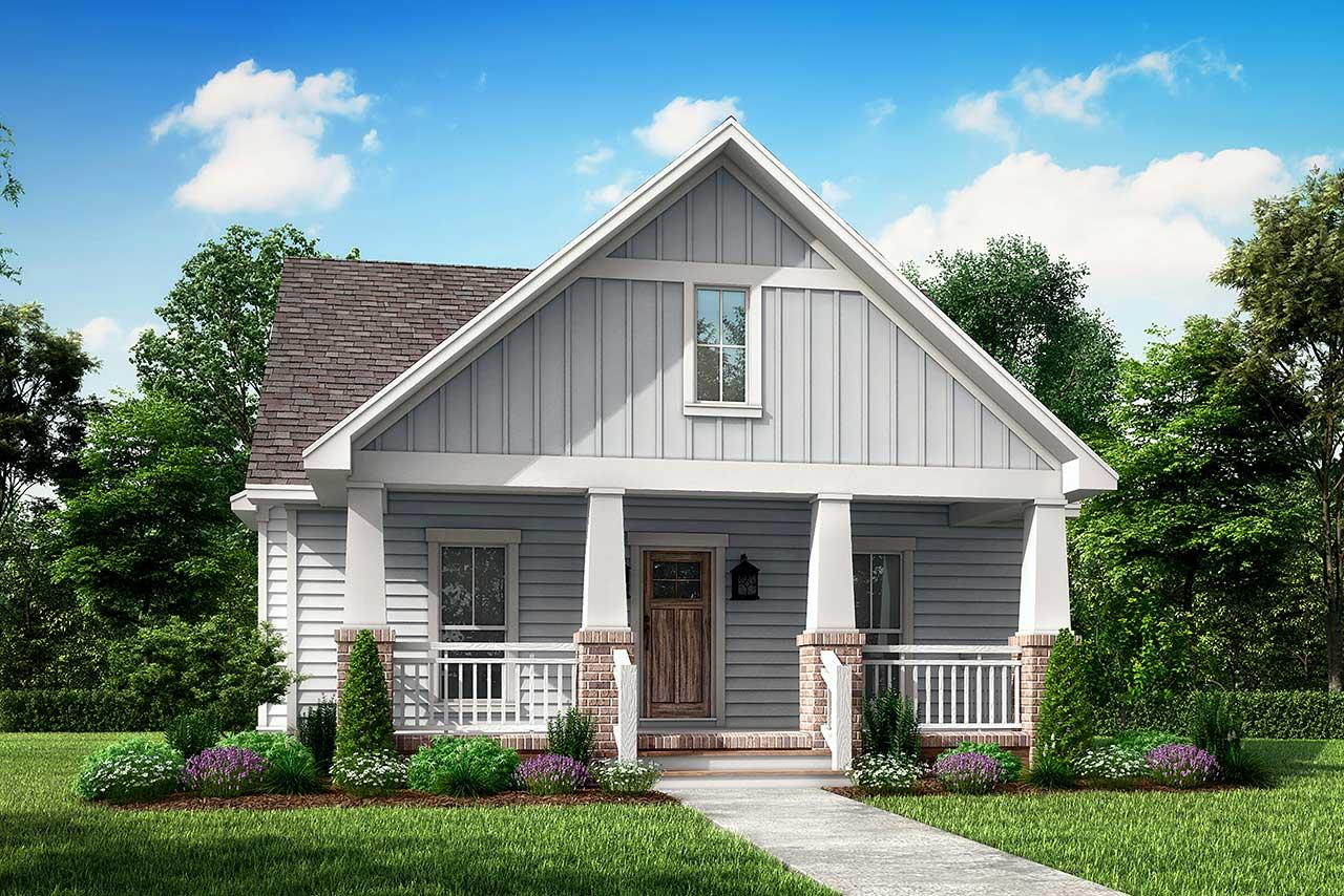 Craftsman Style House Plans Plan: 50-141
