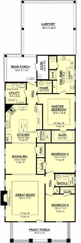 Main Floor Plan: 50-141