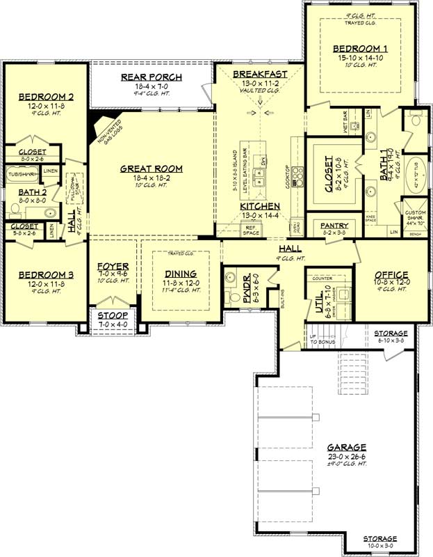 Main Floor Plan: 50-149