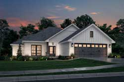 Traditional Style Home Design Plan: 50-150