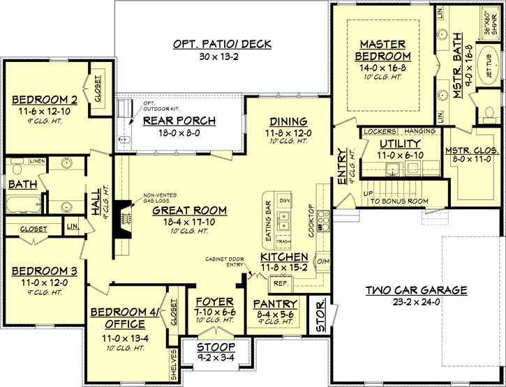 Main Floor Plan: 50-152