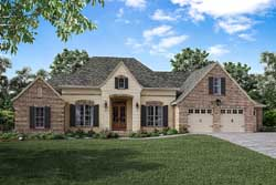 Country Style House Plans Plan: 50-159